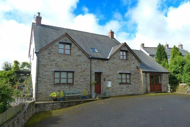 Thumbnail Detached house for sale in Bryncelyn, Gwenddwr, Builth Wells
