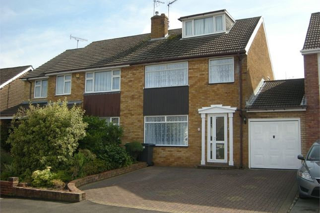 Thumbnail Semi-detached house to rent in Padarn Close, Lakeside, Cardiff