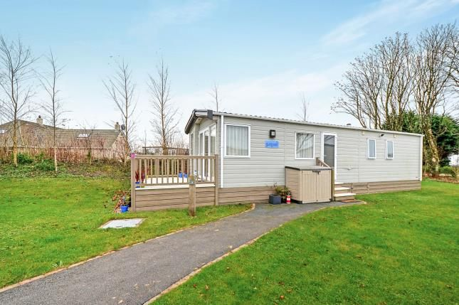 Thumbnail Mobile/park home for sale in White Cross, Newquay, Cornwall