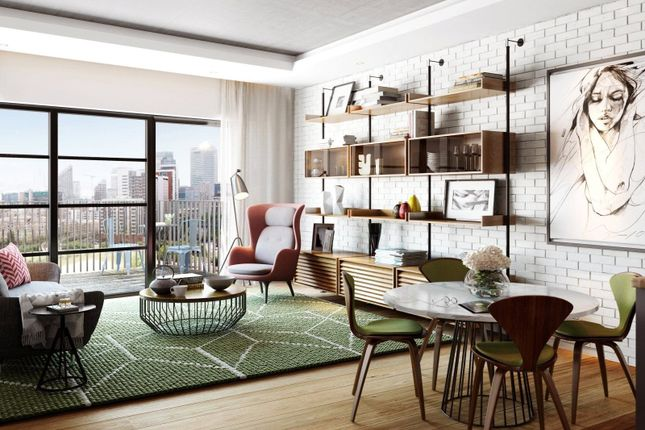 Thumbnail Flat for sale in Orchard Place, London City Island