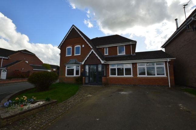 Thumbnail Detached house for sale in Palfreyman Lane, Oadby