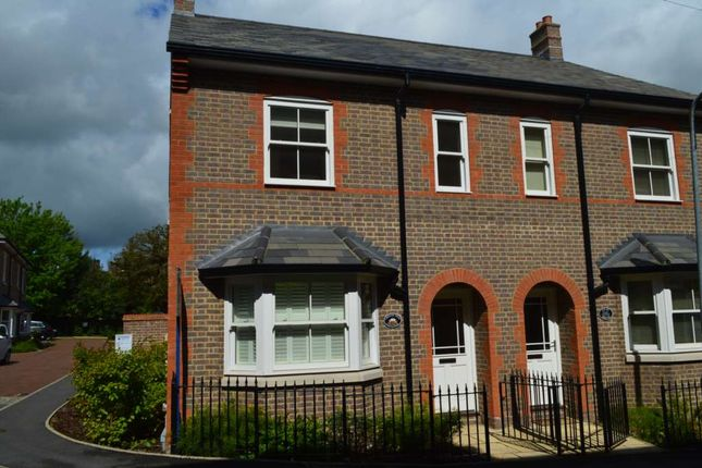 Thumbnail Semi-detached house to rent in New Manor Croft, Manor Street, Berkhamsted
