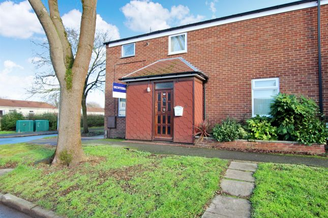 Thumbnail End terrace house to rent in Eathorpe Close, Redditch