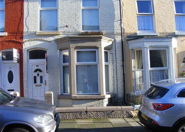 Thumbnail Terraced house to rent in Langton Road, Wavertree, Liverpool