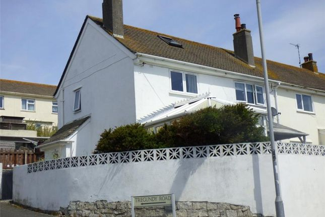 Thumbnail End terrace house for sale in Fuller Road, Perranporth