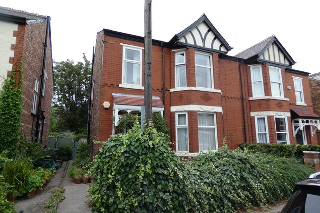 Thumbnail Semi-detached house for sale in Nicolas Road, Chorlton Cum Hardy, Manchester