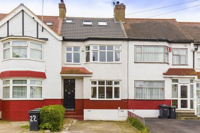 Thumbnail Terraced house for sale in Norfolk Close, Palmers Green