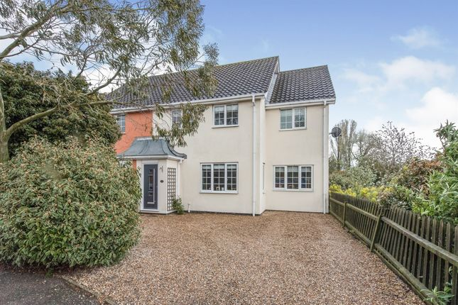 4 bed semi-detached house for sale in Louies Lane, Roydon, Diss IP22