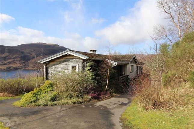 4 bed detached bungalow for sale in Lynchets, Braes, Ullapool IV26