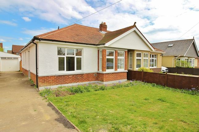 Thumbnail Bungalow for sale in Carshalton Avenue, Drayton, Portsmouth