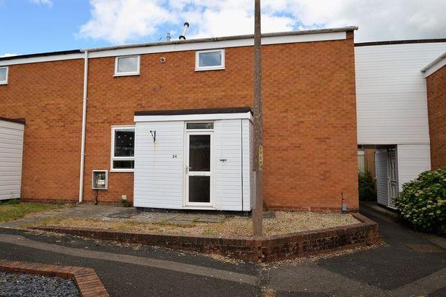 Thumbnail End terrace house for sale in Grendon Close, Matchborough West, Redditch