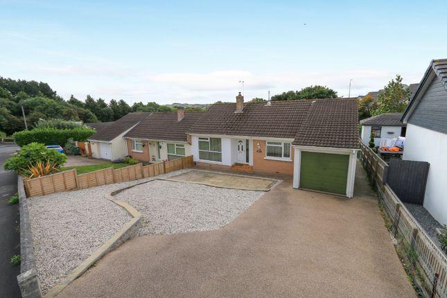 Thumbnail 2 bed semi-detached bungalow for sale in Darran Close, Kingsteignton, Newton Abbot