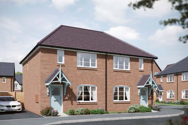 Thumbnail End terrace house for sale in Tatenhill, Burton-On-Trent, Staffordshire