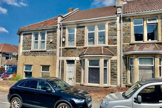 Thumbnail Terraced house to rent in Hillside Road, St. George, Bristol