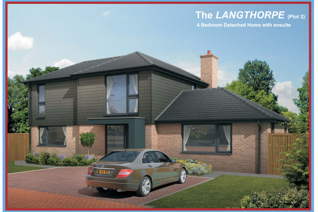 Thumbnail Detached house for sale in The Langthorpe, The Crossways, Holmer, Hereford, Herefordshire