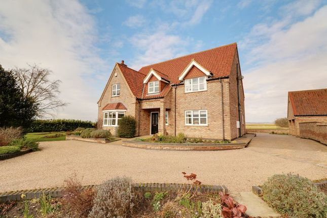 Thumbnail Detached house for sale in Sluice Road, South Ferriby, Barton-Upon-Humber