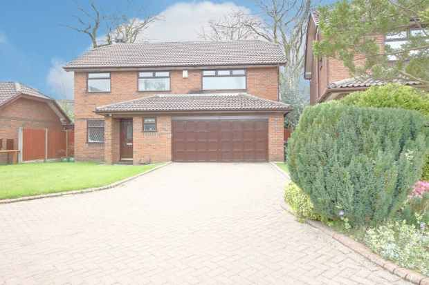 Thumbnail Detached house for sale in Willowfield Grove, Wigan, Lancashire