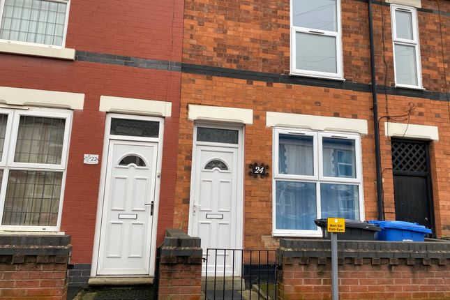 Thumbnail Terraced house to rent in Hawthorn Street, Derby