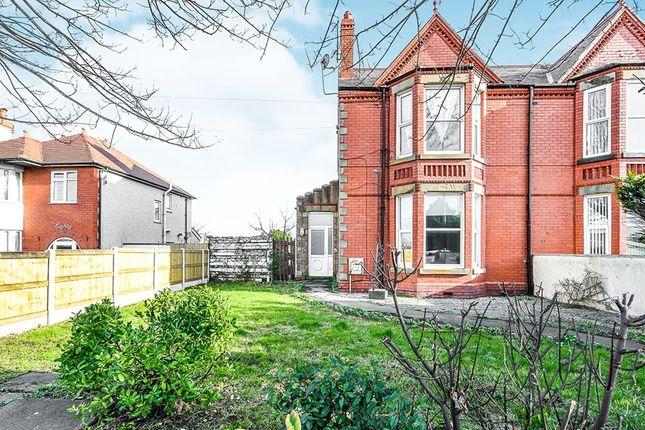 Thumbnail Flat for sale in Rhuddlan Road, Rhyl, Clwyd