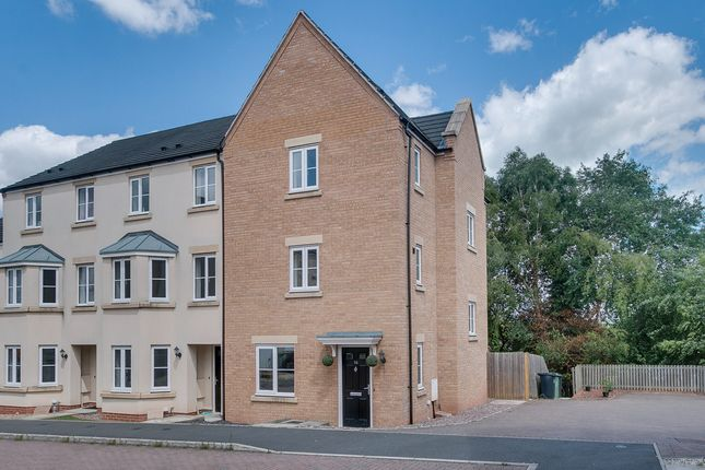 Thumbnail End terrace house for sale in Dixon Close, Enfield, Redditch
