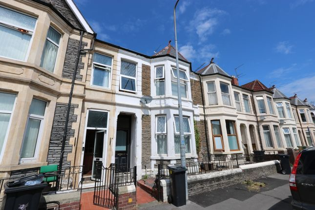 Thumbnail Flat to rent in Monthermer Road, Roath, Cardiff