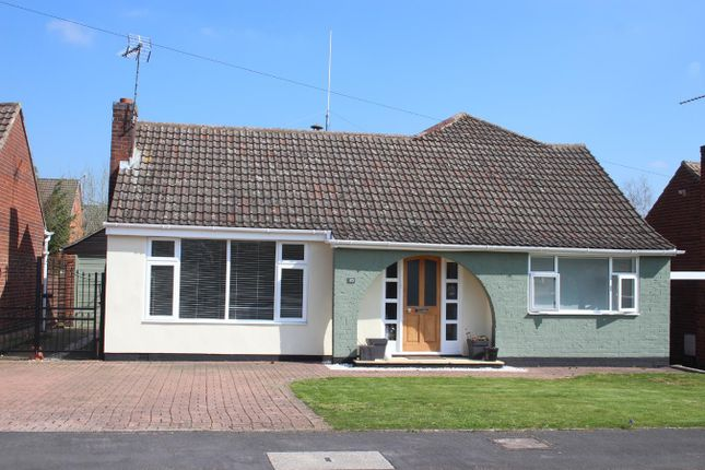 Thumbnail Bungalow for sale in The Fleet, Stoney Stanton, Leicester