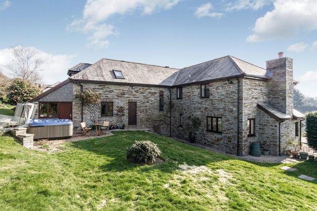 Thumbnail Detached house for sale in Dunstan Lane, St. Mellion, Saltash