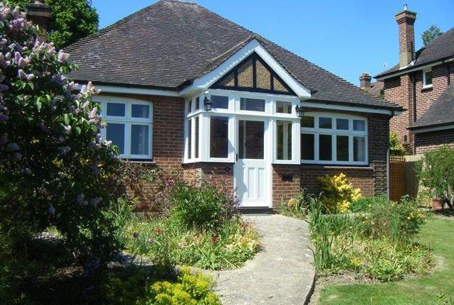 Thumbnail Bungalow to rent in Woodland Way, Bidborough, Tunbridge Wells