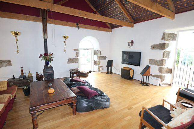 Thumbnail Detached house for sale in Horsedowns, Praze, Camborne