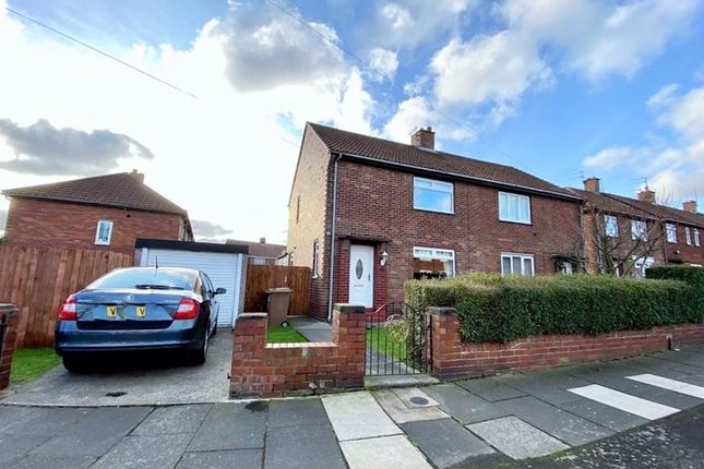 Thumbnail 2 bed property for sale in Kendal Gardens, Wallsend