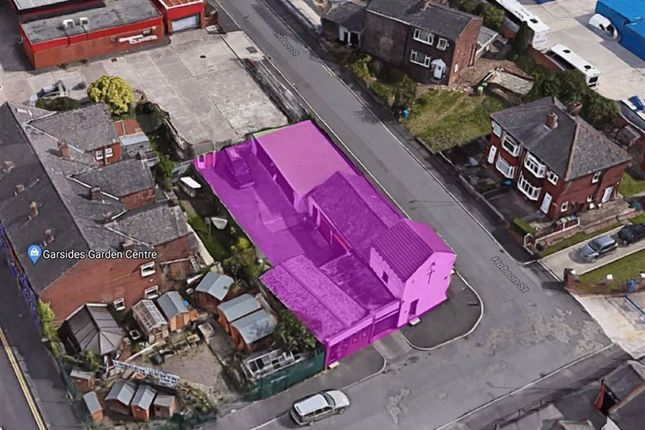 Thumbnail Commercial property for sale in Linwood Street, Failsworth, Manchester