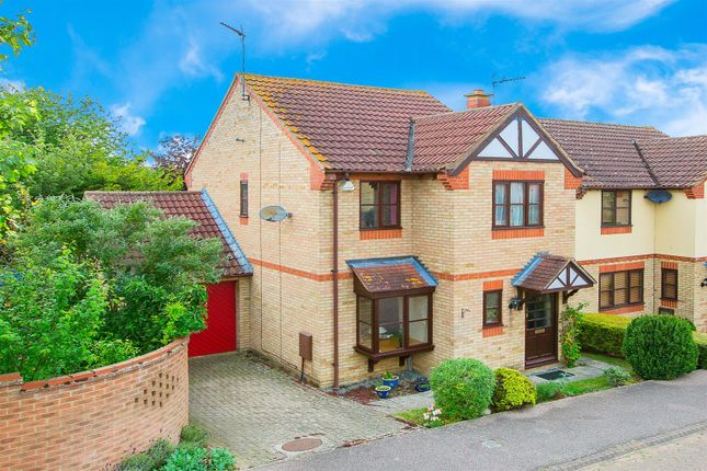 Thumbnail Detached house for sale in Chandler Gardens, Thrapston
