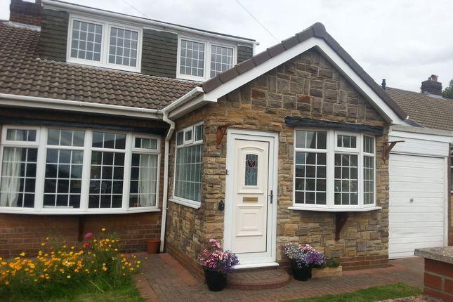 Thumbnail Semi-detached house for sale in Park Lane, Blaydon-On-Tyne