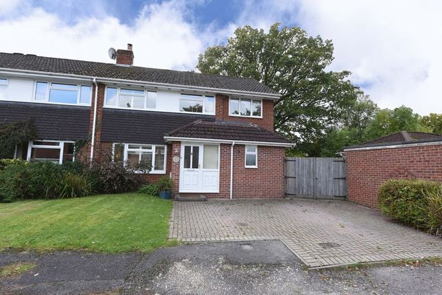 Thumbnail End terrace house for sale in North View Road, Tadley