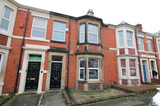 Thumbnail Terraced house to rent in Mayfair Road, West Jesmond
