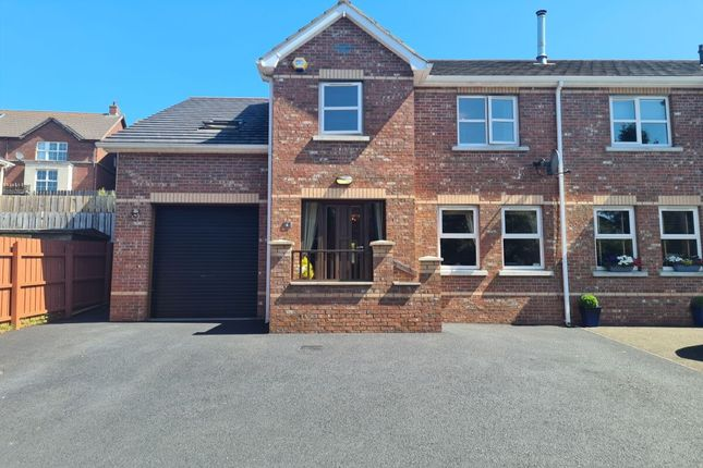 Thumbnail Semi-detached house for sale in Glenview Avenue, Newtownabbey