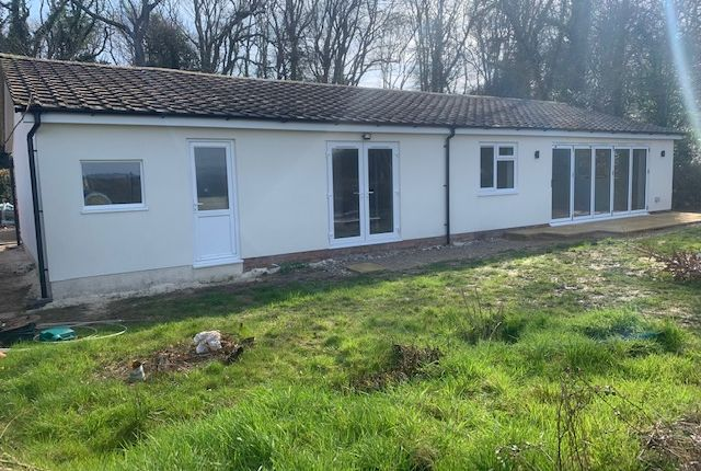 Thumbnail Detached bungalow to rent in Woodside, Common Road, Whiteparish