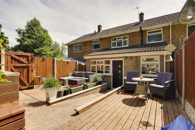 3 bed town house for sale in Hanworth Gardens, Arnold, Nottinghamshire NG5