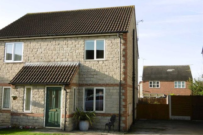Thumbnail Semi-detached house to rent in Nutwell Court, Scunthorpe