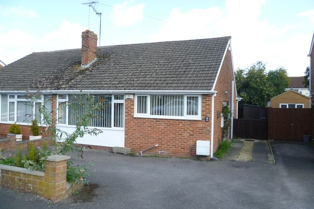 Thumbnail Semi-detached bungalow to rent in Hildyard Close, Gloucester