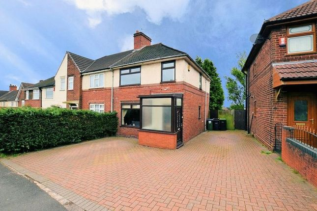 Thumbnail End terrace house for sale in Hill Top Road, Oldbury