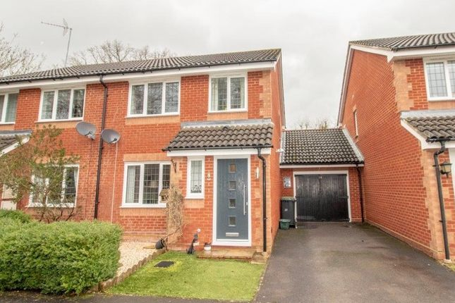 Thumbnail Semi-detached house for sale in The Smithy, Bramley, Tadley
