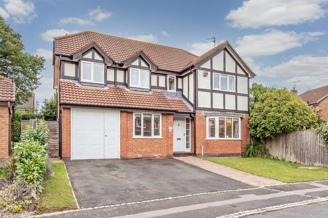 Thumbnail Detached house for sale in Timberlake Close, Shirley, Solihull