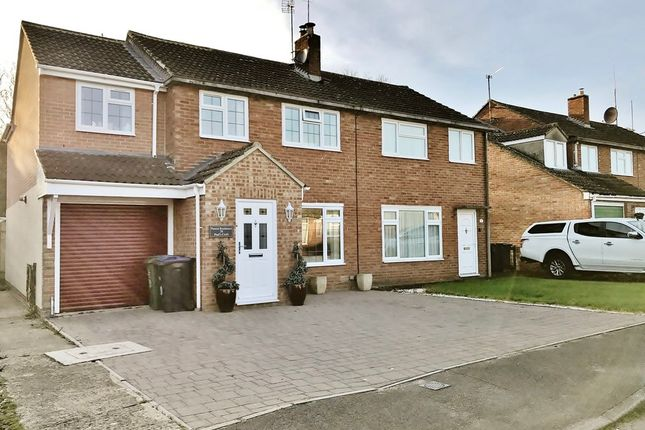 Thumbnail Semi-detached house for sale in Vale Court, White Horse Road, Cricklade, Swindon