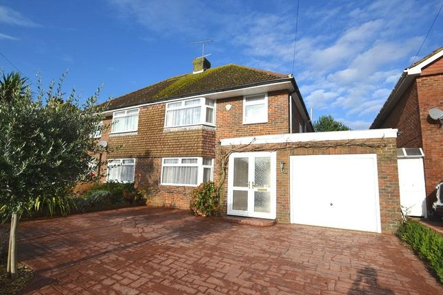 Thumbnail Semi-detached house to rent in Terringes Avenue, Worthing
