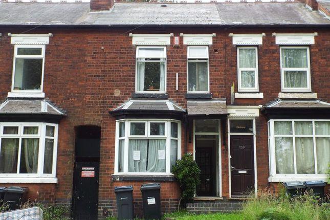Thumbnail Terraced house to rent in Warwards Lane, Selly Oak, Birmingham