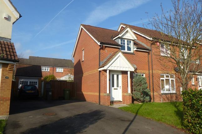 Thumbnail Semi-detached house to rent in Walmesley Chase, Hilperton, Trowbridge