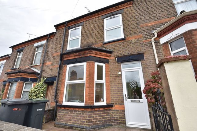 Thumbnail Terraced house to rent in Tennyson Road, Luton