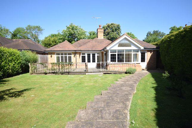Thumbnail Detached bungalow to rent in Harriotts Lane, Ashtead