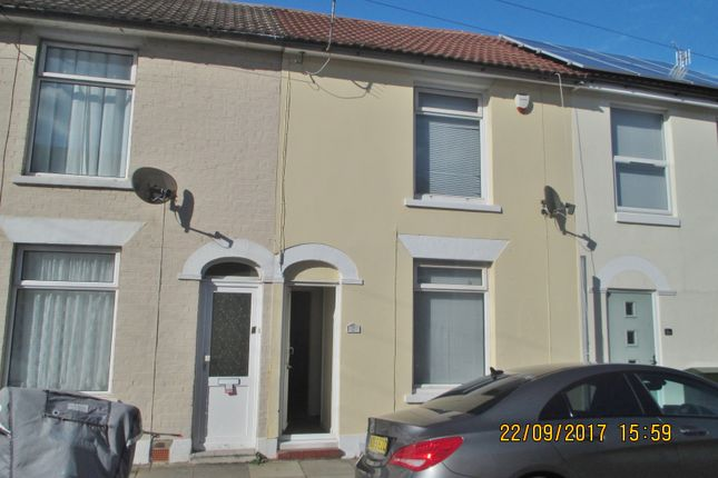 Thumbnail Terraced house to rent in Stansted Road, Southsea